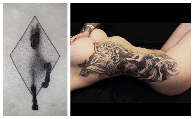 Los mejores tatuajes de caballos