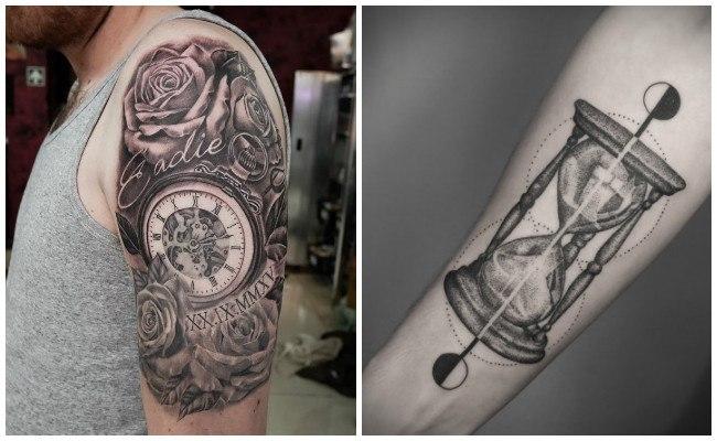 Los mejores tatuajes de relojes