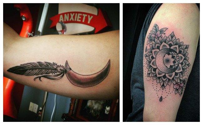 Lunas para tatuajes