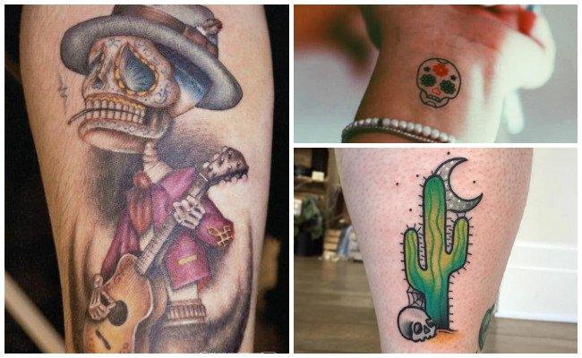 Mejores tatuajes de la santa muerte