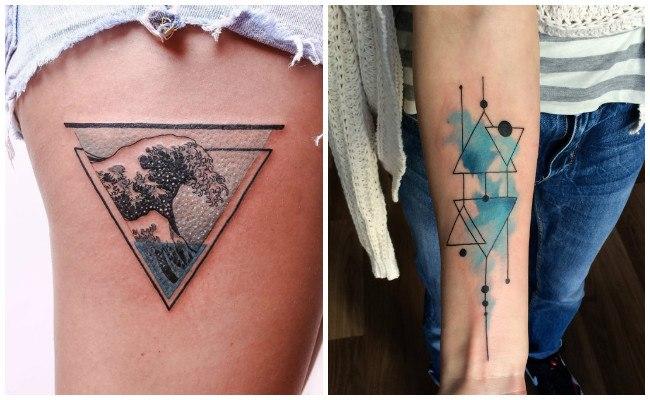 Nuevos tatuajes geométicos