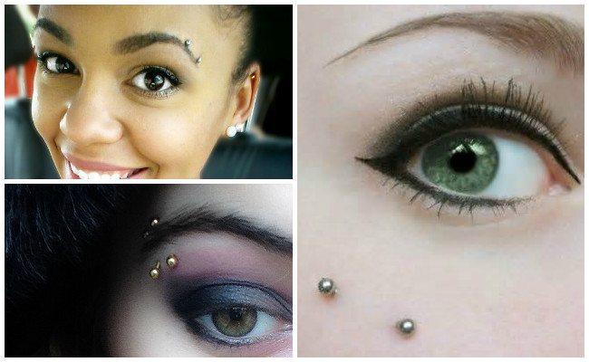 Piercing en la ceja y estilos