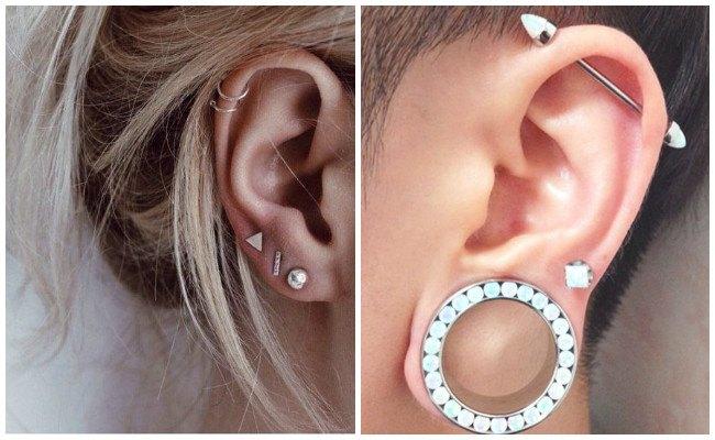 Piercing en la oreja y tipos