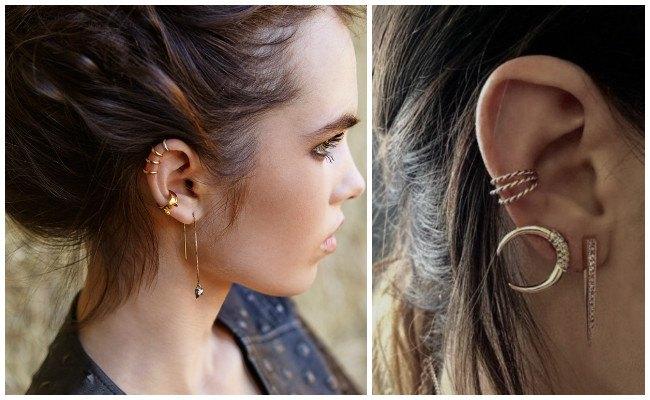 Piercing en la oreja tragus