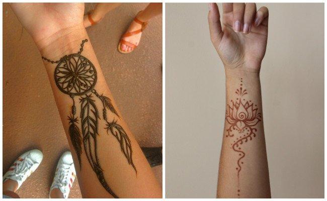 Plantilla de tatuaje de henna