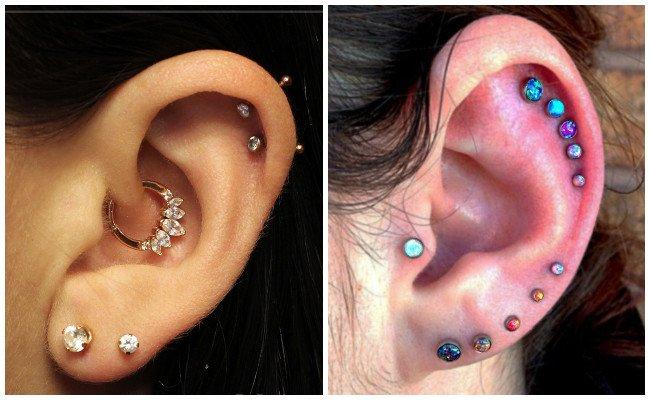 Precio del piercing en la oreja
