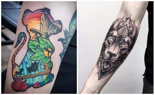 Qué representan los tatuajes de leones