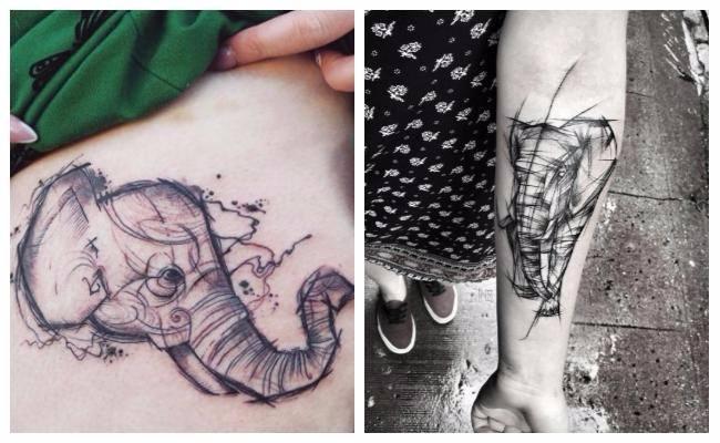 Qué signfican los tatuajes de elefantes hindues