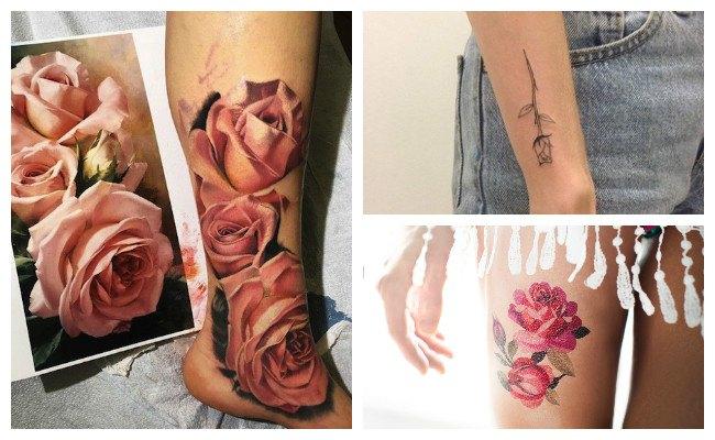 Qué simbolizan los tatuajes de rosas