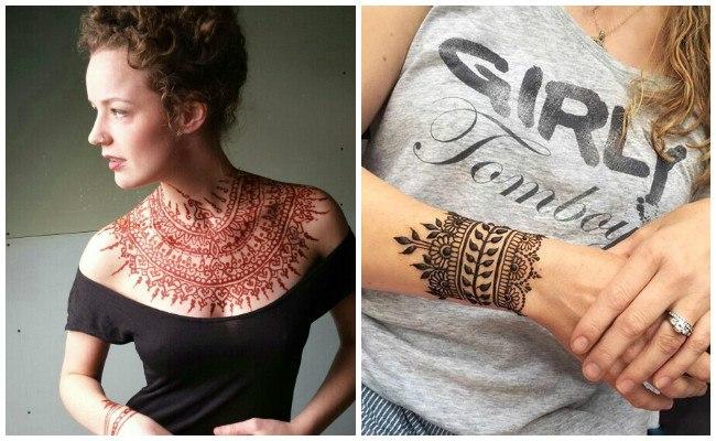 Qué son tatuajes de henna