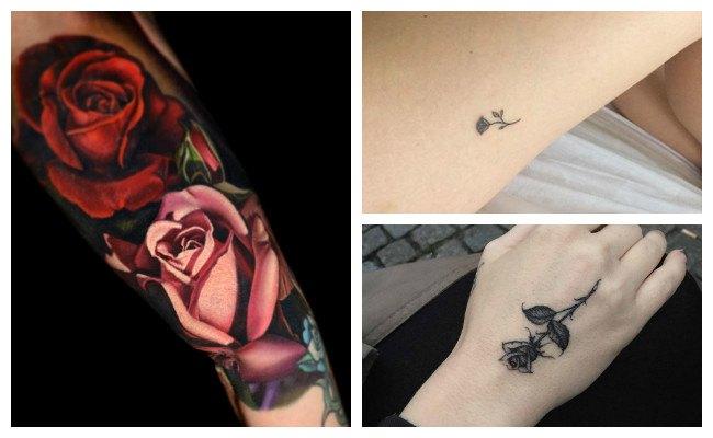 Rosas para tatuar