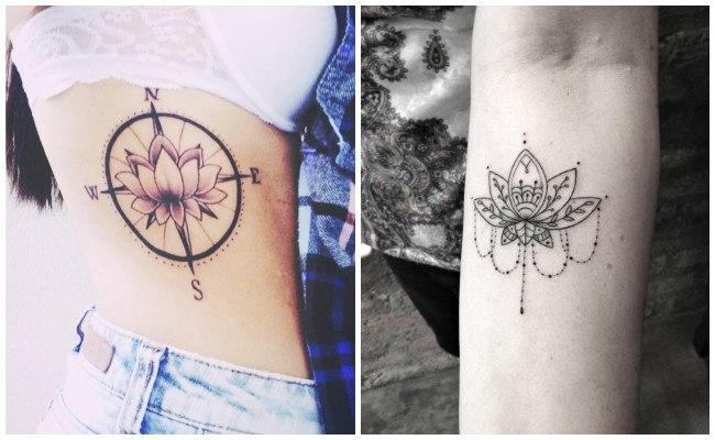 Significado de la flor de loto en tatuajes
