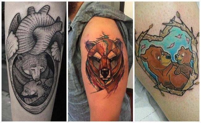 Significado de los tatuajes de osos
