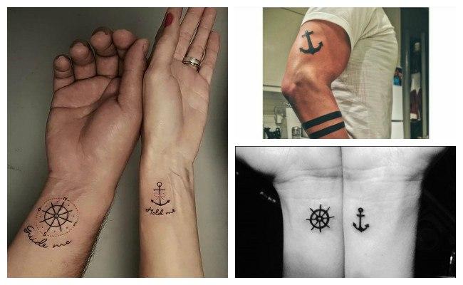Significado de tatuajes de anclas