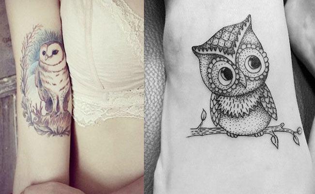 significado de tatuajes de buhos