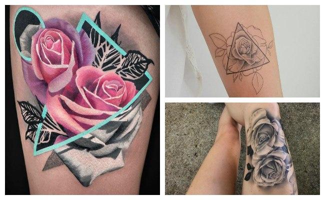 Significado de tatuarse una rosa