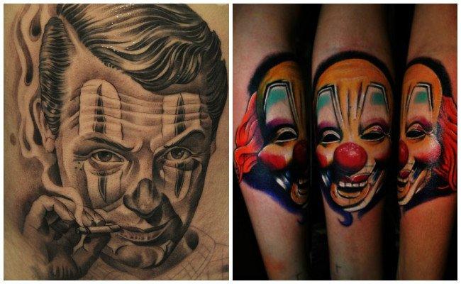Significado de payasos en los tatuajes