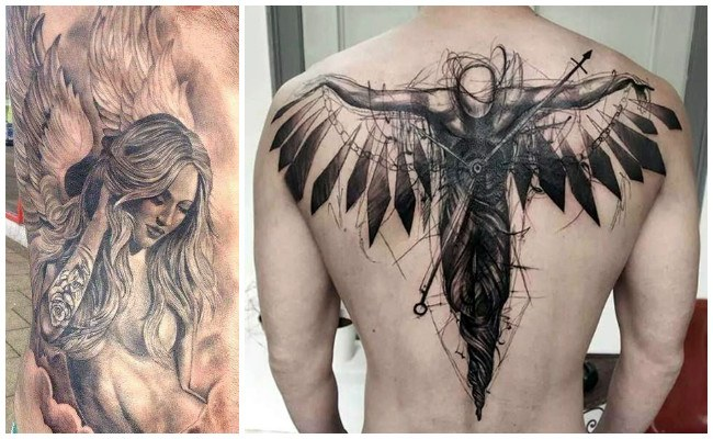 Significado de los tatuajes de ángeles
