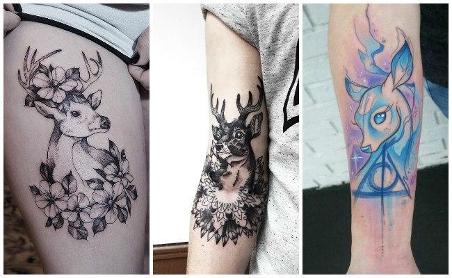 Significado de los tatuajes de ciervos