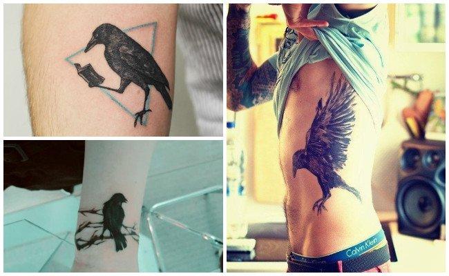 Significado de tatuajes de cuervos