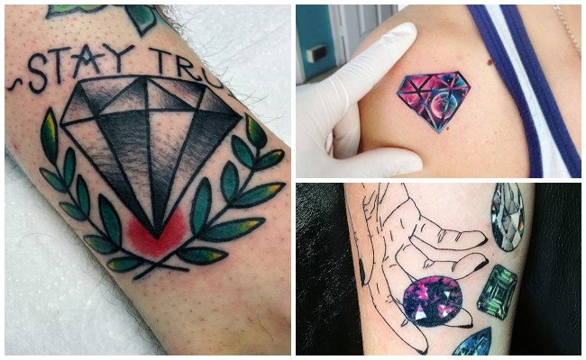 Significado de tatuajes de diamantes