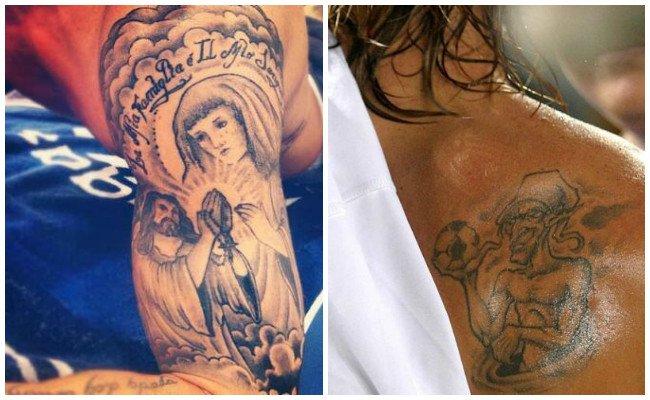 Significado de tatuajes de sergio ramos