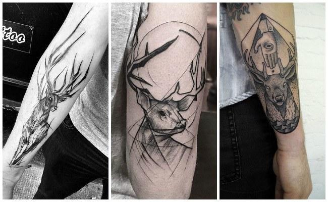 Significado de tatuajes de venado