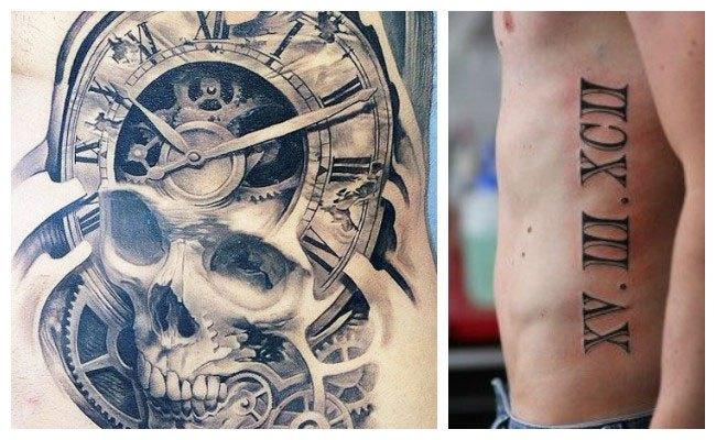 Significado de tatuajes de números romanos