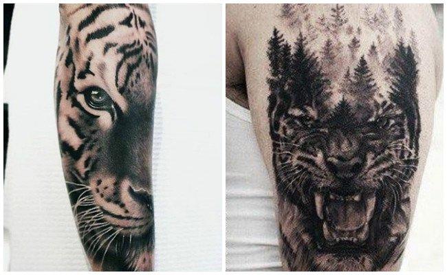 Significado de tatuajes de tigres