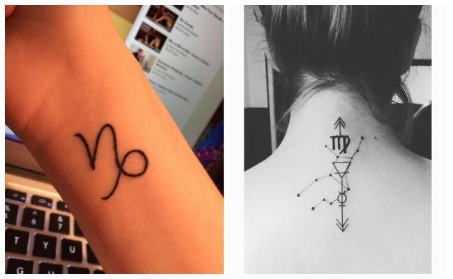 Símbolo del zodiaco tattoo