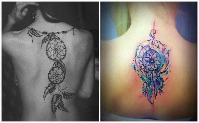 Tattoo de atrapasueños