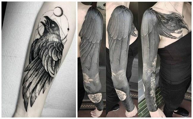 Tattoo de cuervos y significado