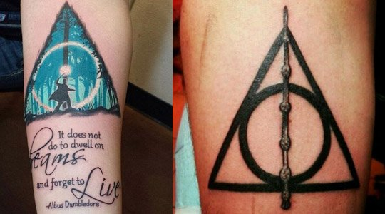 tattoo de Harry Potter