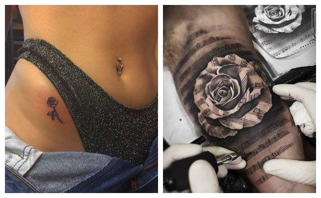 Tattoo de rosas
