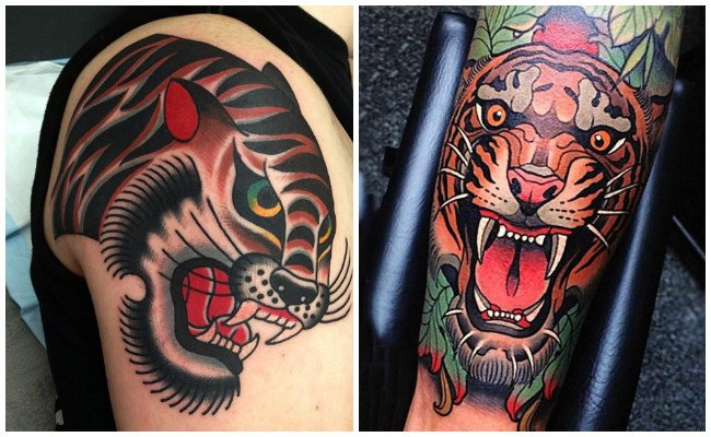 Tattoo de tigre