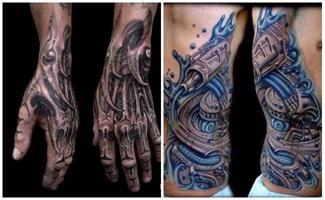 Tattoo brazo biónico