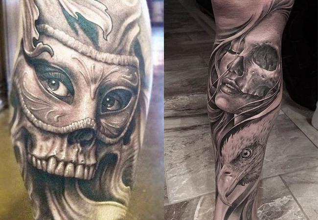 Tattoos de calaveras