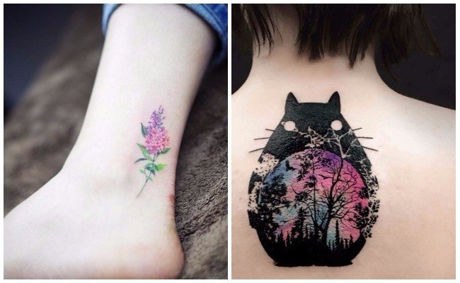Tattoos en acuarela