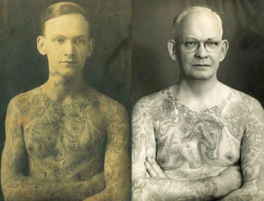 tatuador de la vieja escuela