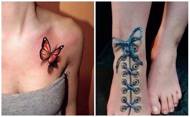 Tatuaje 3d para hombre