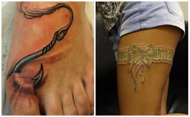 Tatuaje 3d robot