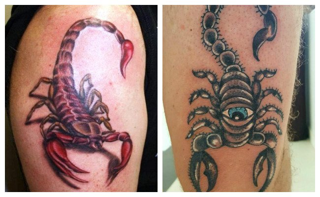 Significado de tatuaje del alacrán