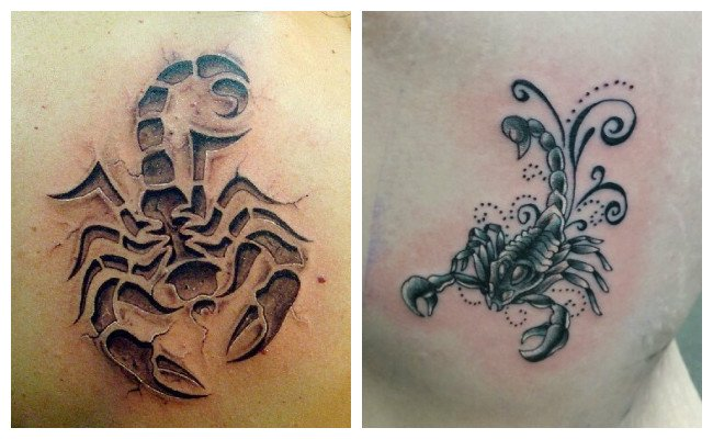 Tatuaje de alacrán