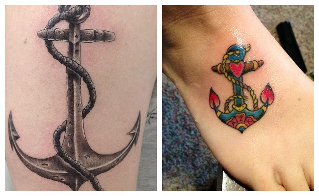 Tatuajes de anclas y su significado