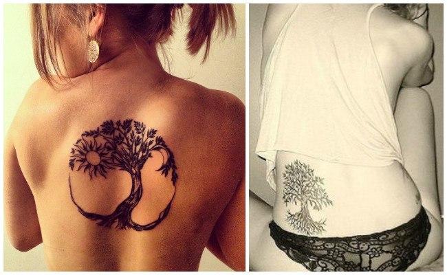 Tatuaje árbol de la vida japonés