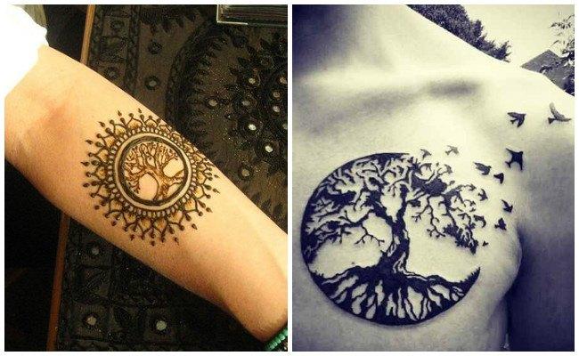 Tatuajes Para Mujeres Arbol De La Vida Significado