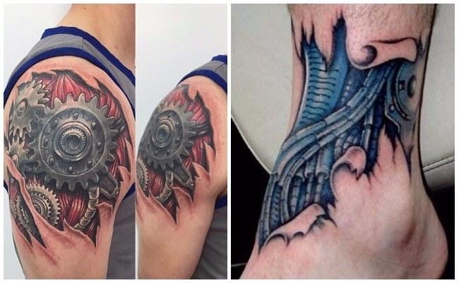 Tatuaje de amortiguador fotos