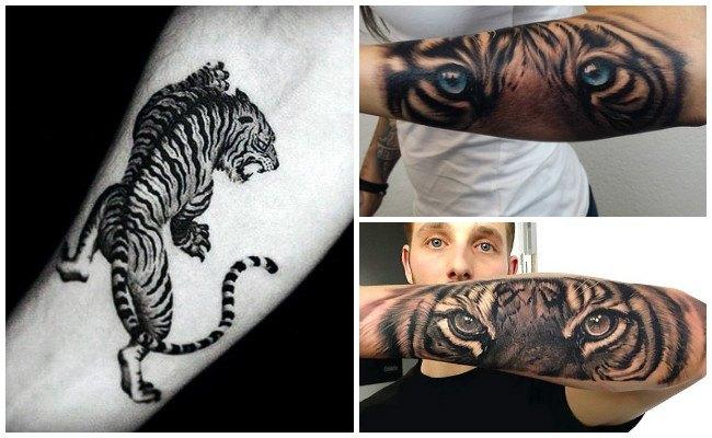 Tatuaje de tigre fotos