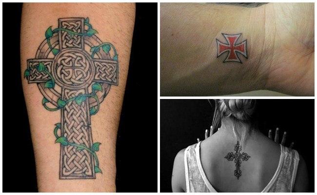Tatuajes de una cruz