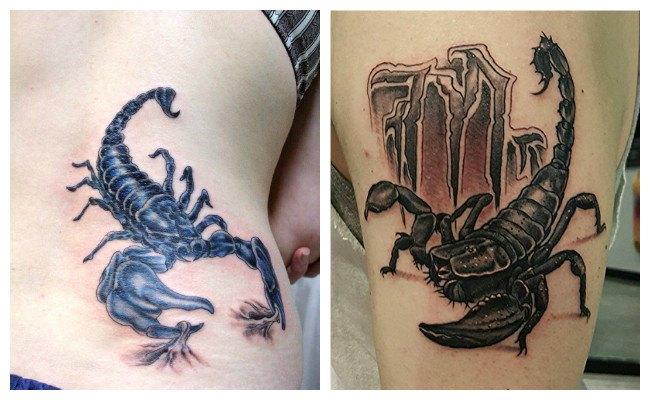 Tatuaje de escorpio